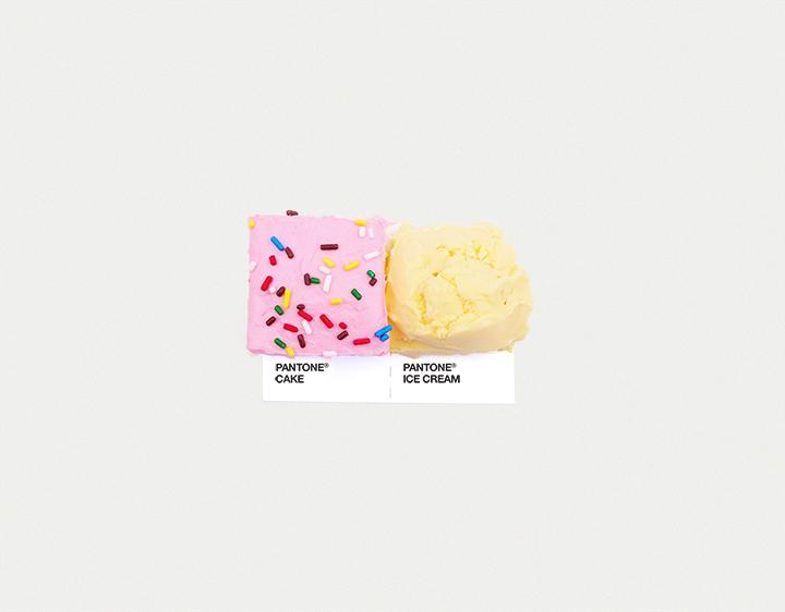 ©DRPANTONE CAKE/ PANTONE ICE CREAM