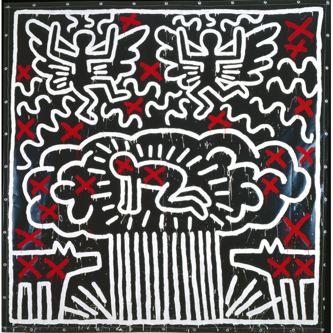 Untitled, 1982, Collection particulière, © Keith Haring Foundation