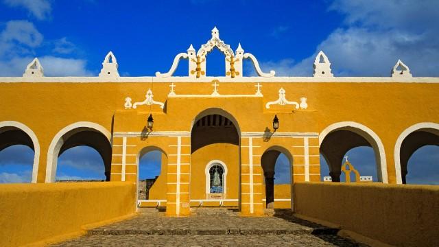 Izamal (Mexique) – © Courtesy of Patrick Escudero/Hemis/Corbis Tous les droits réservés.