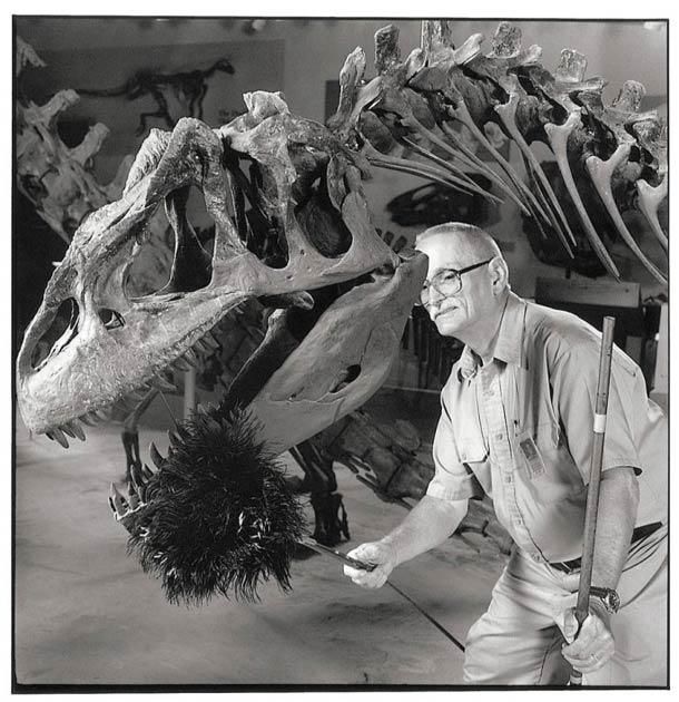 Dépoussiéreur de dinosaures © Nancy Rica Schiff. Tous les droits réservés.