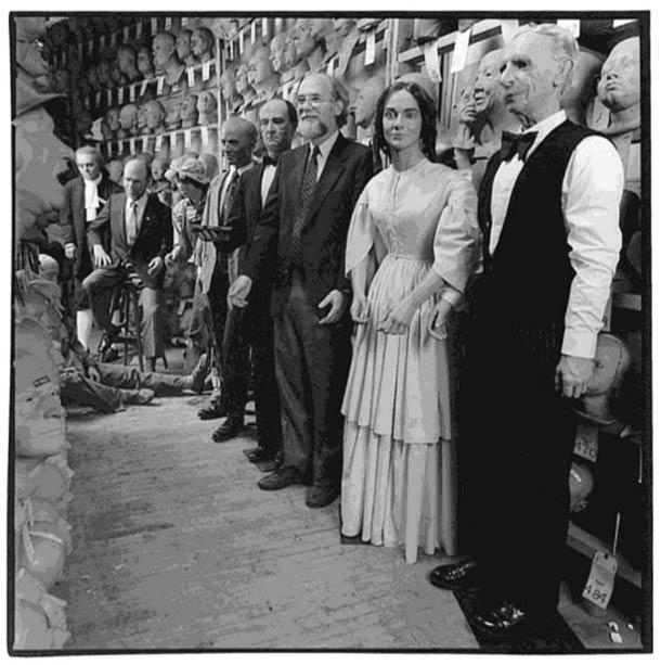 Fabriquant de mannequins en cire © Nancy Rica Schiff. Tous les droits réservés.