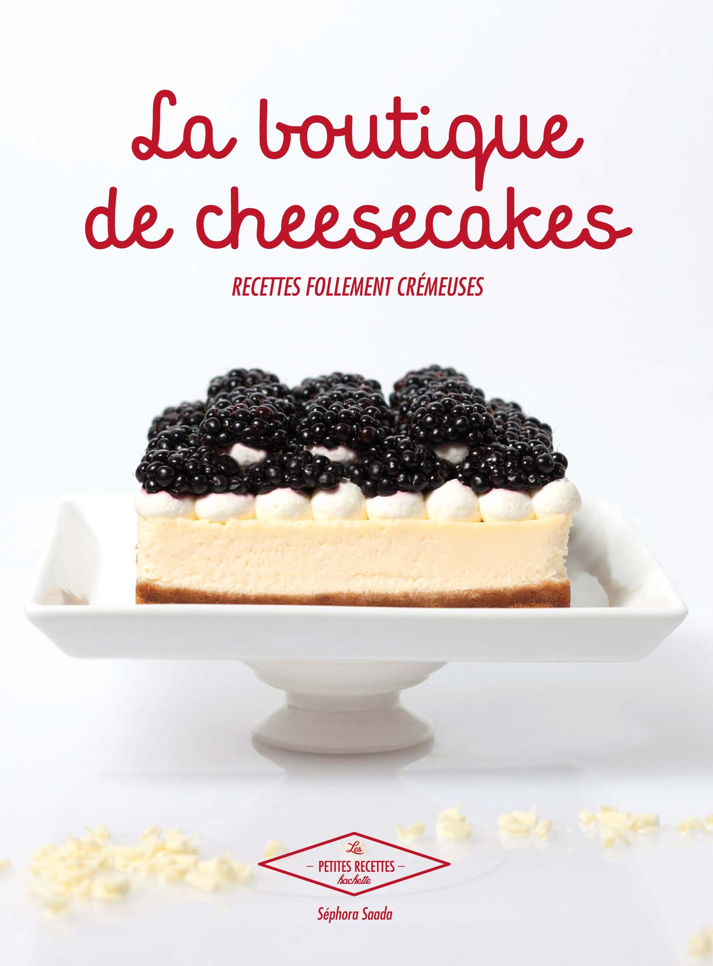 livre : la boutique de cheesecakes de sephora saada - untitled