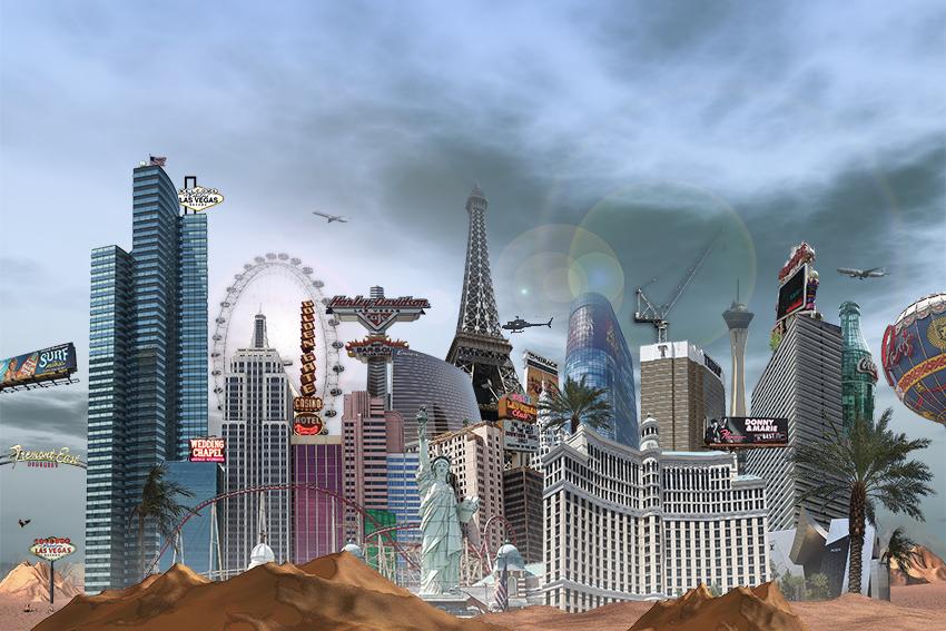 Las Vegas II, 2012, réduite