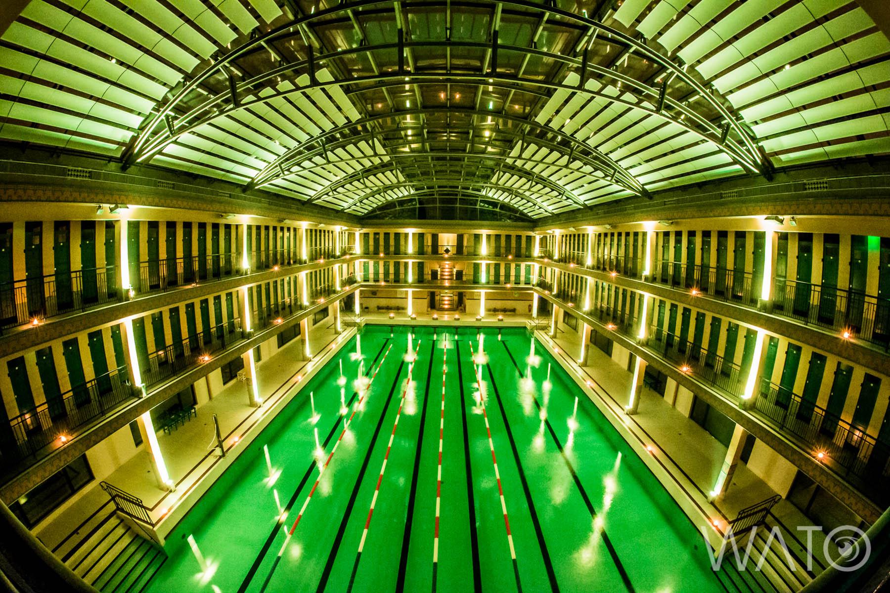 Gagnez vos places pour la soir e underwater 3 la piscine for Piscine pailleron