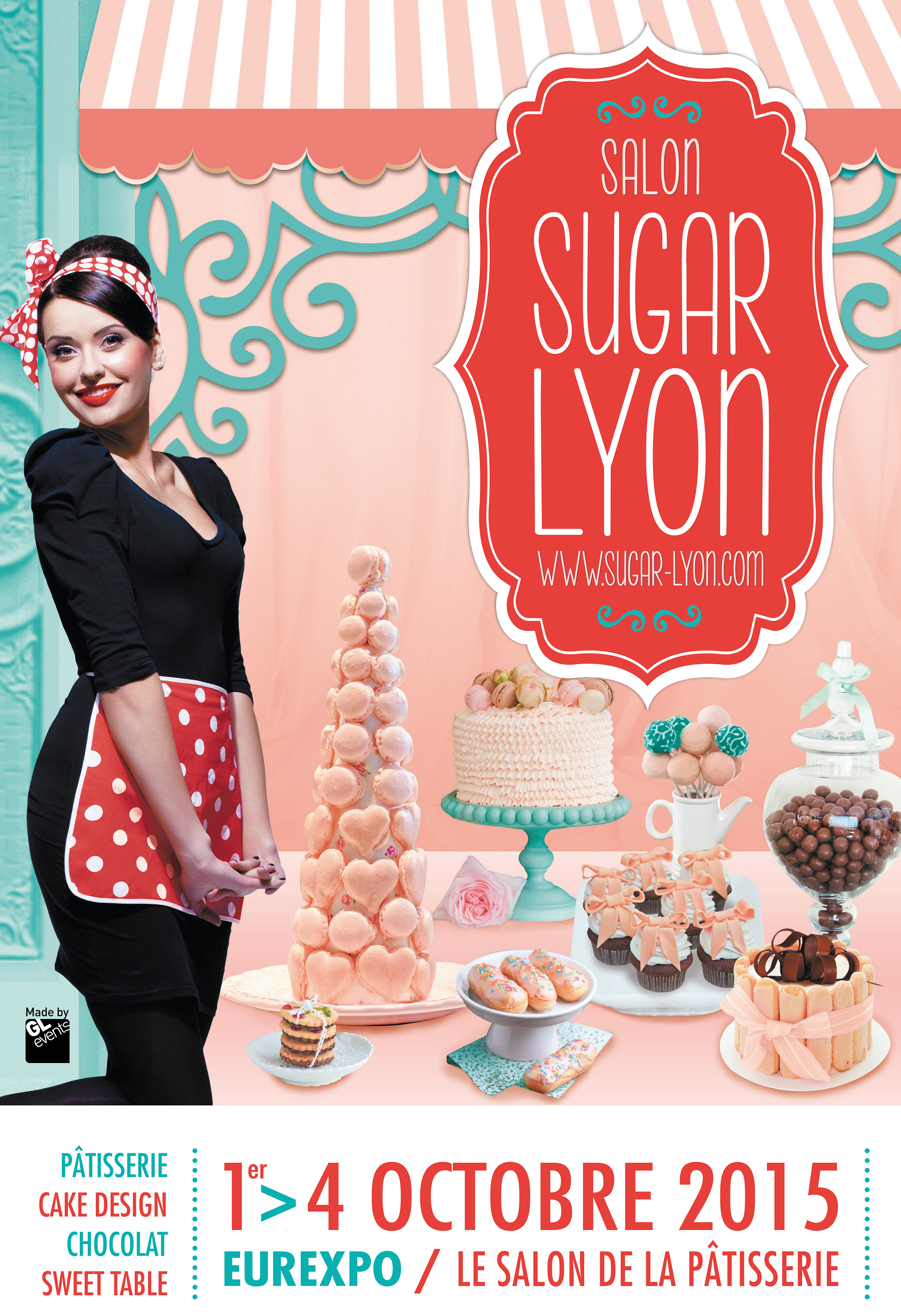 Lyon 1 re dition du le salon sugar lyon untitled magazine - Salon patisserie lyon ...