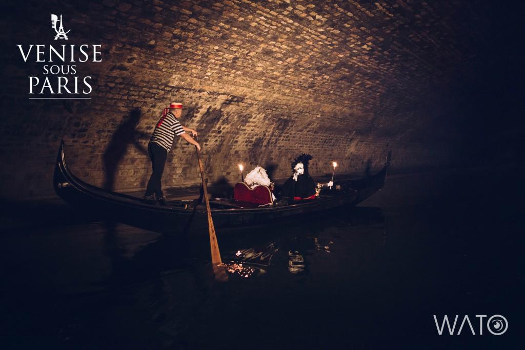4. Venise sous Paris Gondole