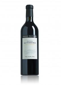Un vin rouge du Château de la Verrerie (Lauris)