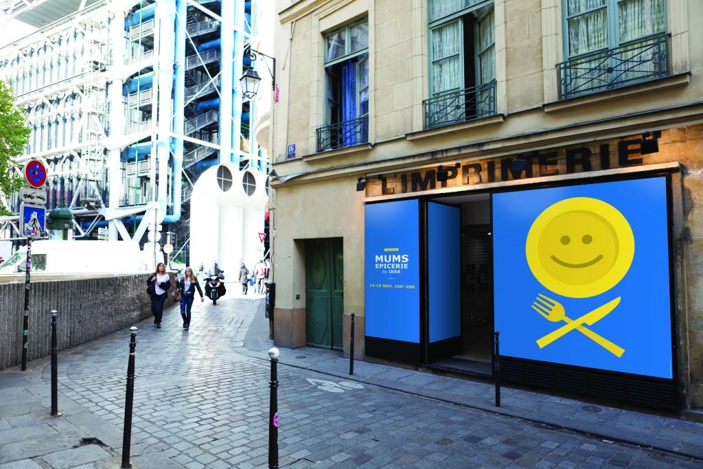 La vitrine IKEA MUMS Epicerie