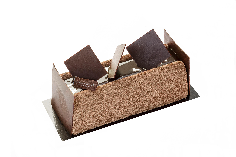Une bûche au chocolat
