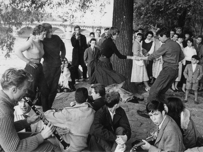dalmas sipa paris années 60