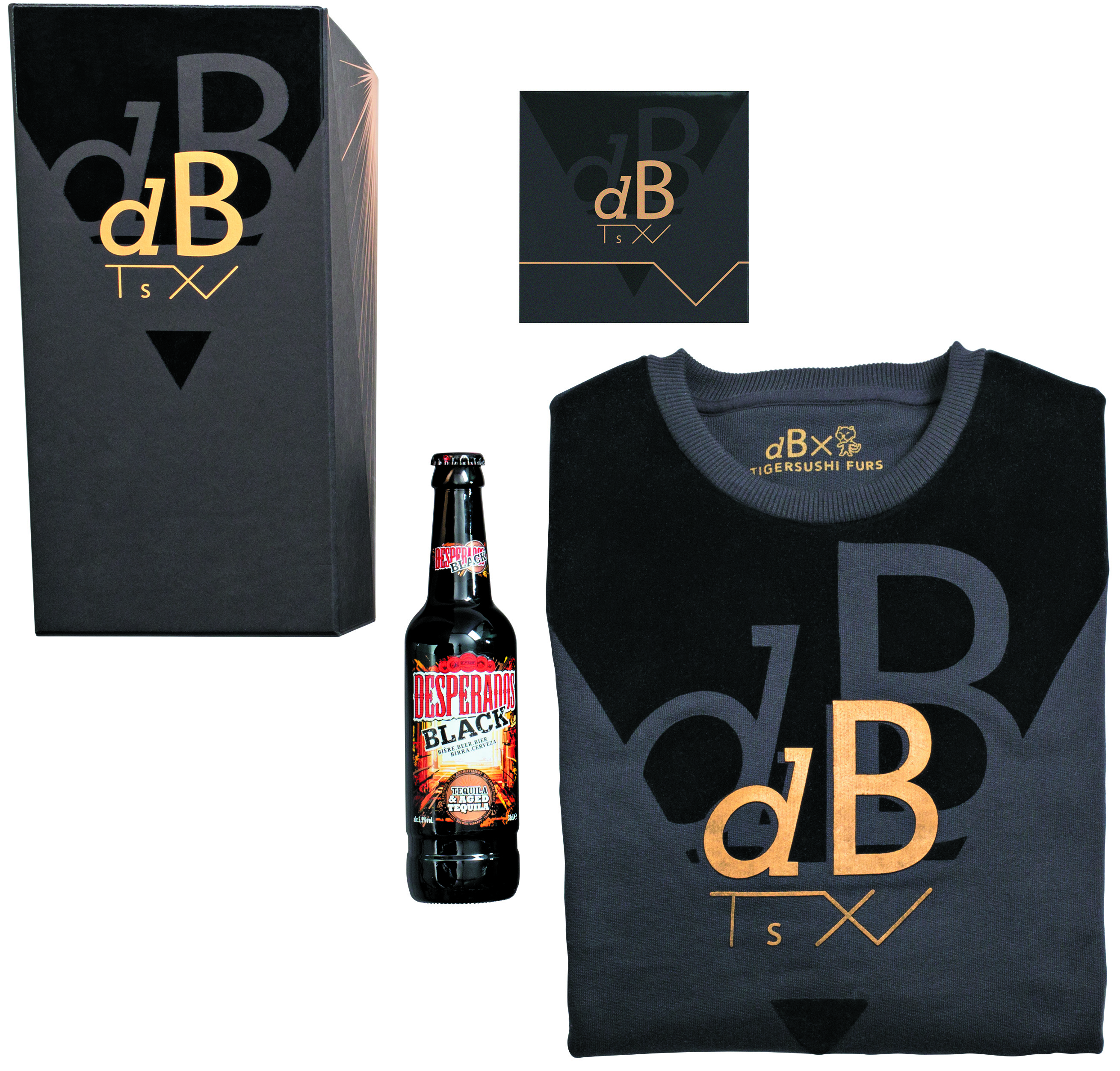 Coffret Desperados Black
