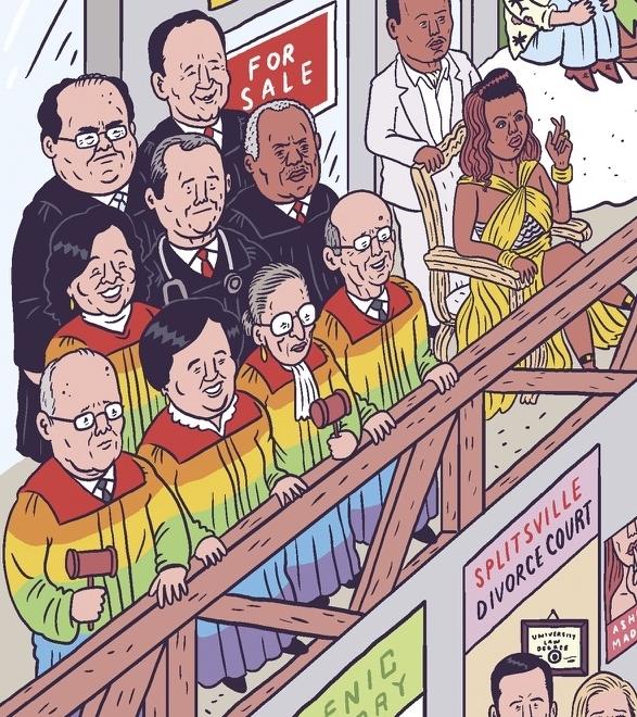 La Cour suprême légalise le mariage homosexuel le 26 juin