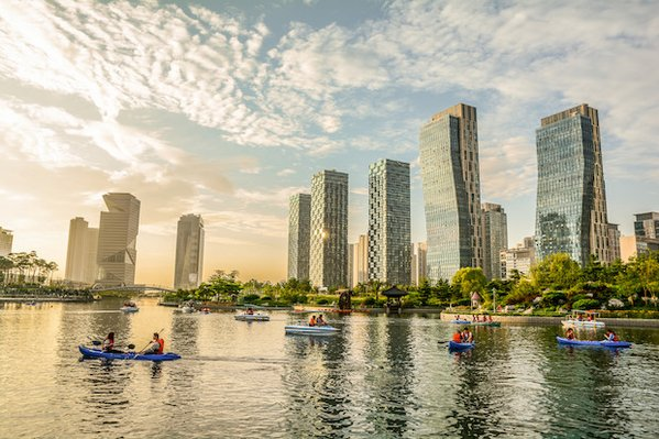 © Songdo, Smart City sud-coréenne