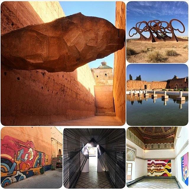 Biennale Marrakech / Instagram ©redcitypr