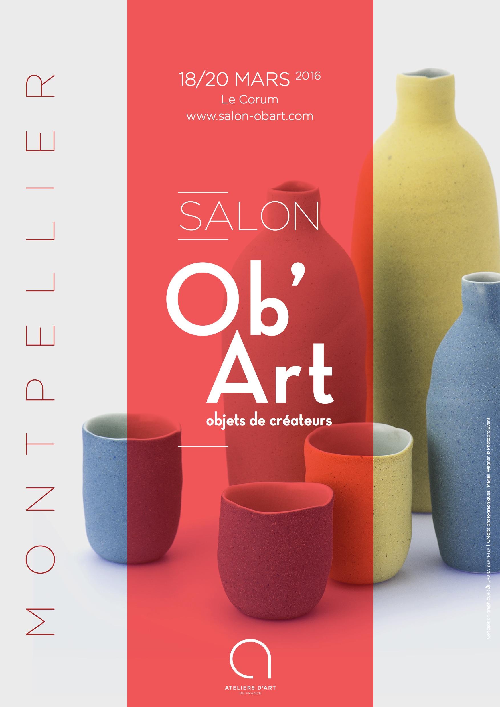 Le salon ob art s 39 installe au corum de montpellier for Salon art contemporain montpellier