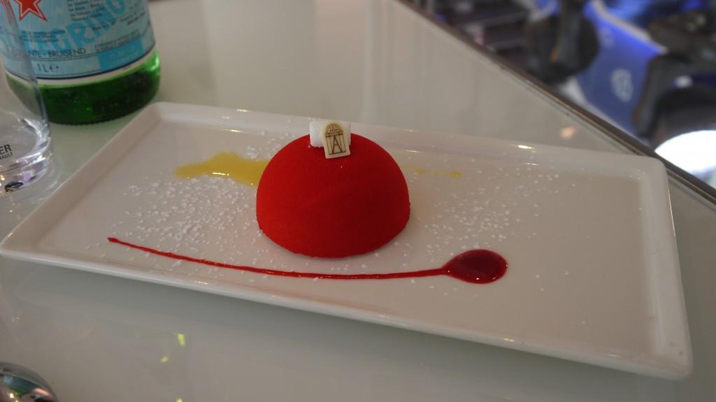 Le dessert création de la Maison Angelina