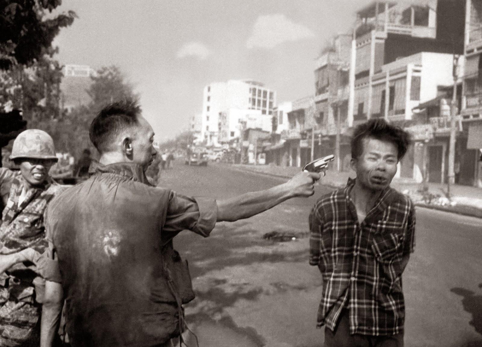 L'exécution du Viet-Cong © Eddie Adams 1968