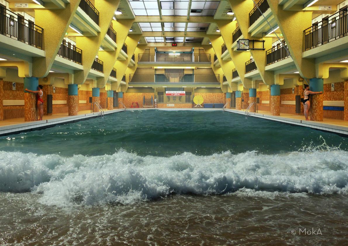 Connaissez vous vraiment les piscines de paris untitled magazine - Piscine municipale bernard lafay ...