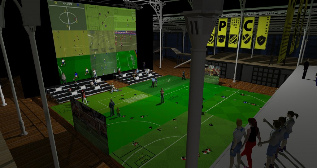 vue de l'exposition Soccer Party Club ∏Pierre Giner, 2016 (6)
