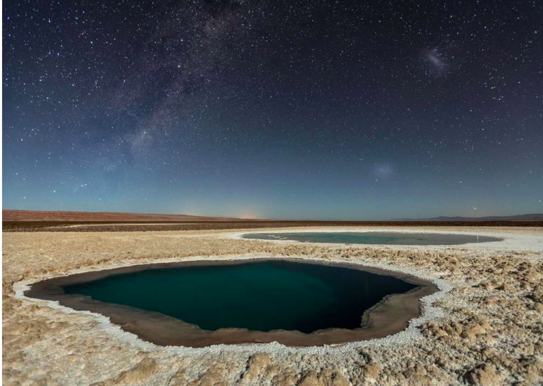 """Troisième place, catégorie """"nature"""" © Victor J'ai pris cette photo lors de ma récente expédition dans le désert d'Atacama, en avril 2016. Je me suis lancé dans cette aventure pour trouver des images du désert le plus aride du monde, également riche en paysages très variés."""