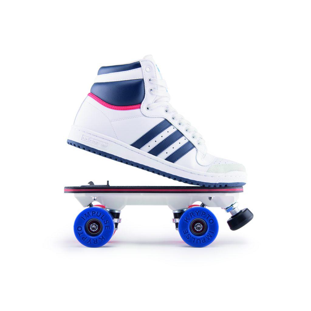 Flaneurz On Wheelz Adidas Top Ten