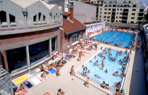 Le top 5 des piscines d couvertes l 39 t paris for Piscine 75012