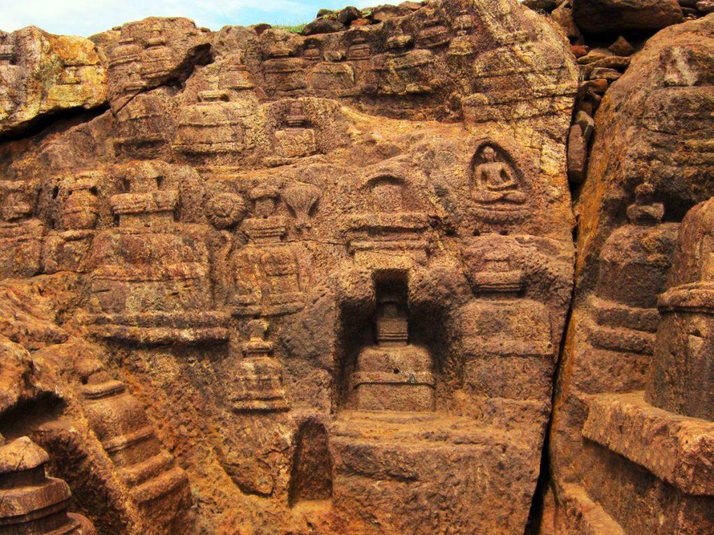 Site archéologique de Nalanda Mahavihara (Inde)