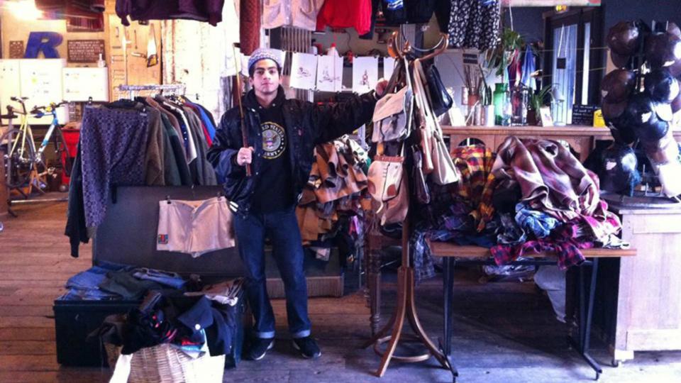 Esprit Libre : shopping et art à la REcyclerie