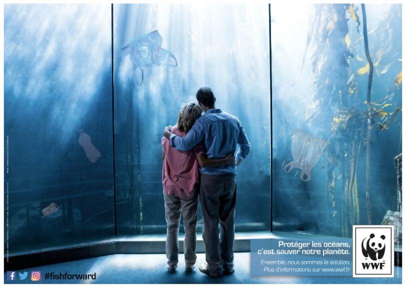 Troisième prix du jury et premier prix du public : L'Aquarium de demain. (© Laureline Monsallier et Estelle Pouly)