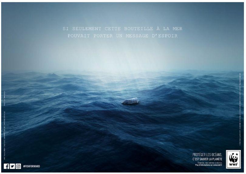 Quatrième prix du jury : La Bouteille à la mer. (© Audrey Perigault- Heurtaux et Anne-Sophie Ignoto)