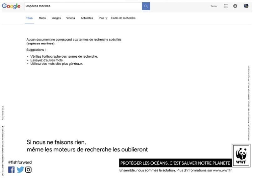 "Premier prix ""Jeune créatif"" : Requête Google. (© Valentin Giraud)"