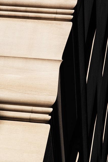 © Ralph Gibson, Vertical Horizon, Building Madison