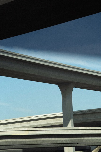 © Ralph Gibson, Vertical Horizon, Freeway Diagonals