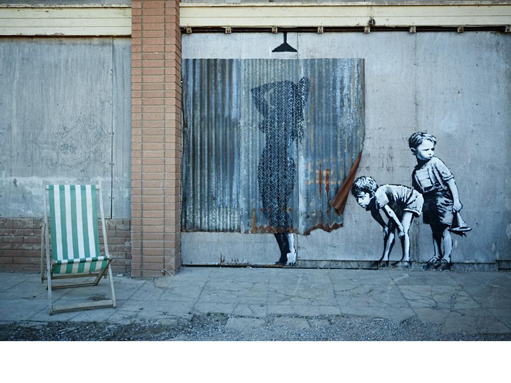 banksy est la r seve malakoff po sie de rue sur murs. Black Bedroom Furniture Sets. Home Design Ideas