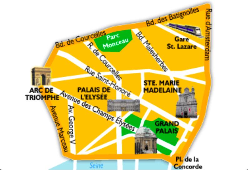 8 ème arrondissement de Paris