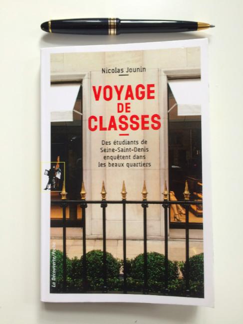 """Couverture du livre """"Voyage de classes"""" © Gaspard Claude"""