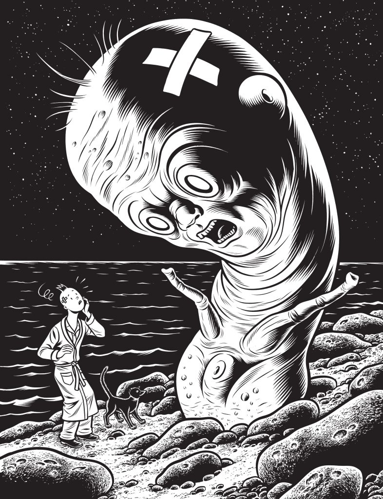 © Charles Burns / Cornélius 2016