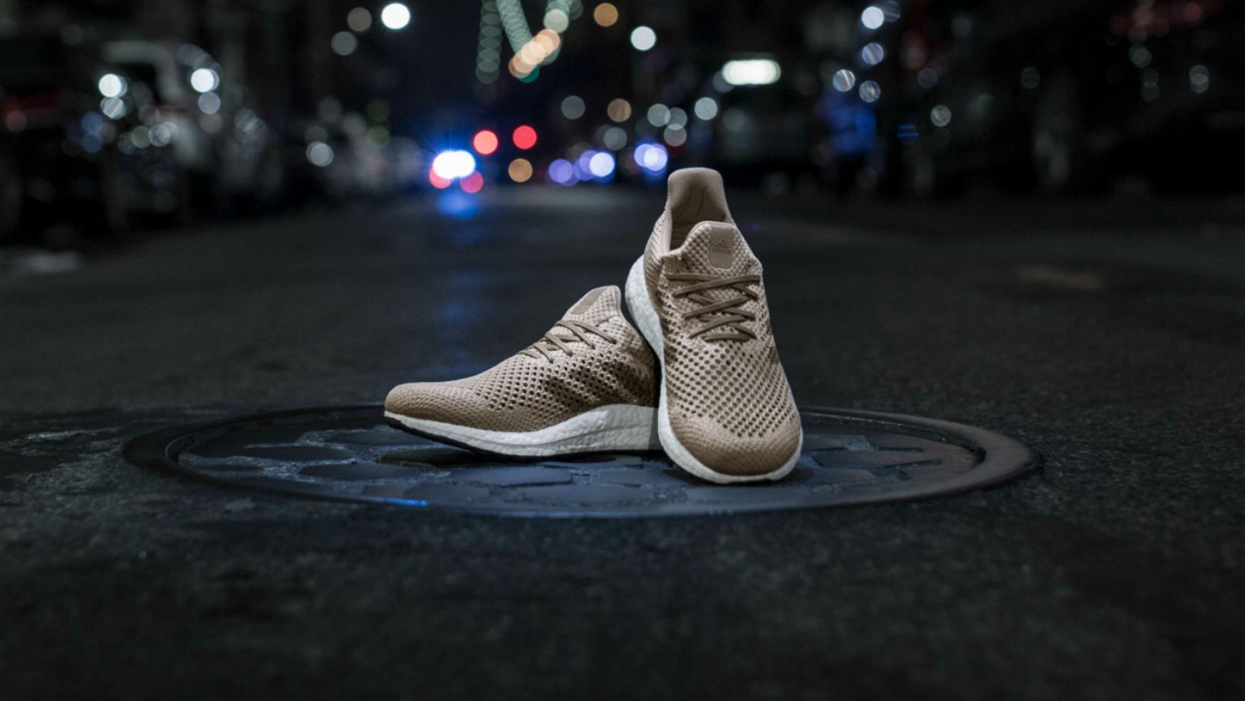 Adidas crée des baskets en fibre Biosteel 100