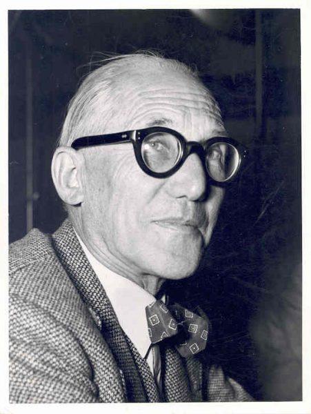 Portrait de Le Corbusier dans les années 50 © FLC/ADAGP
