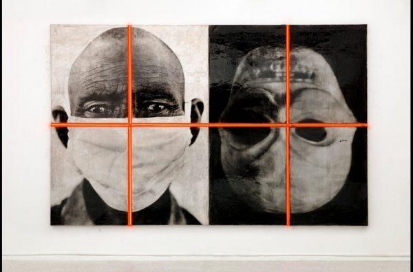 © Gao Bo – Installation de portraits en dualité – Maison Européenne de la Photographie