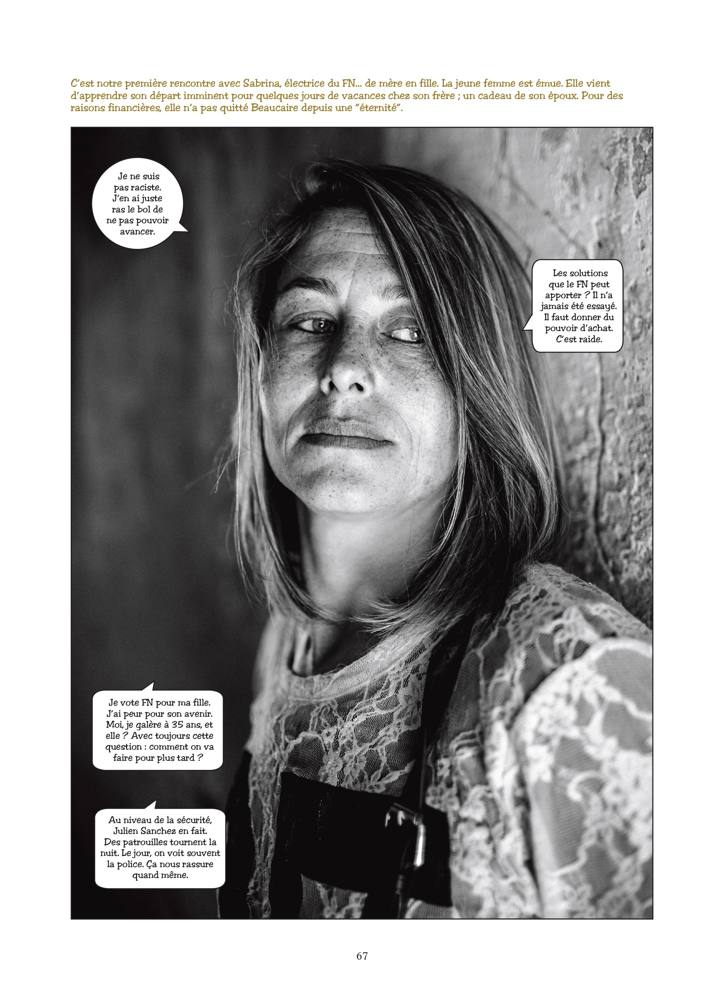 """Planche extraite du livre """"L'illusion nationale"""" © Les Arènes"""