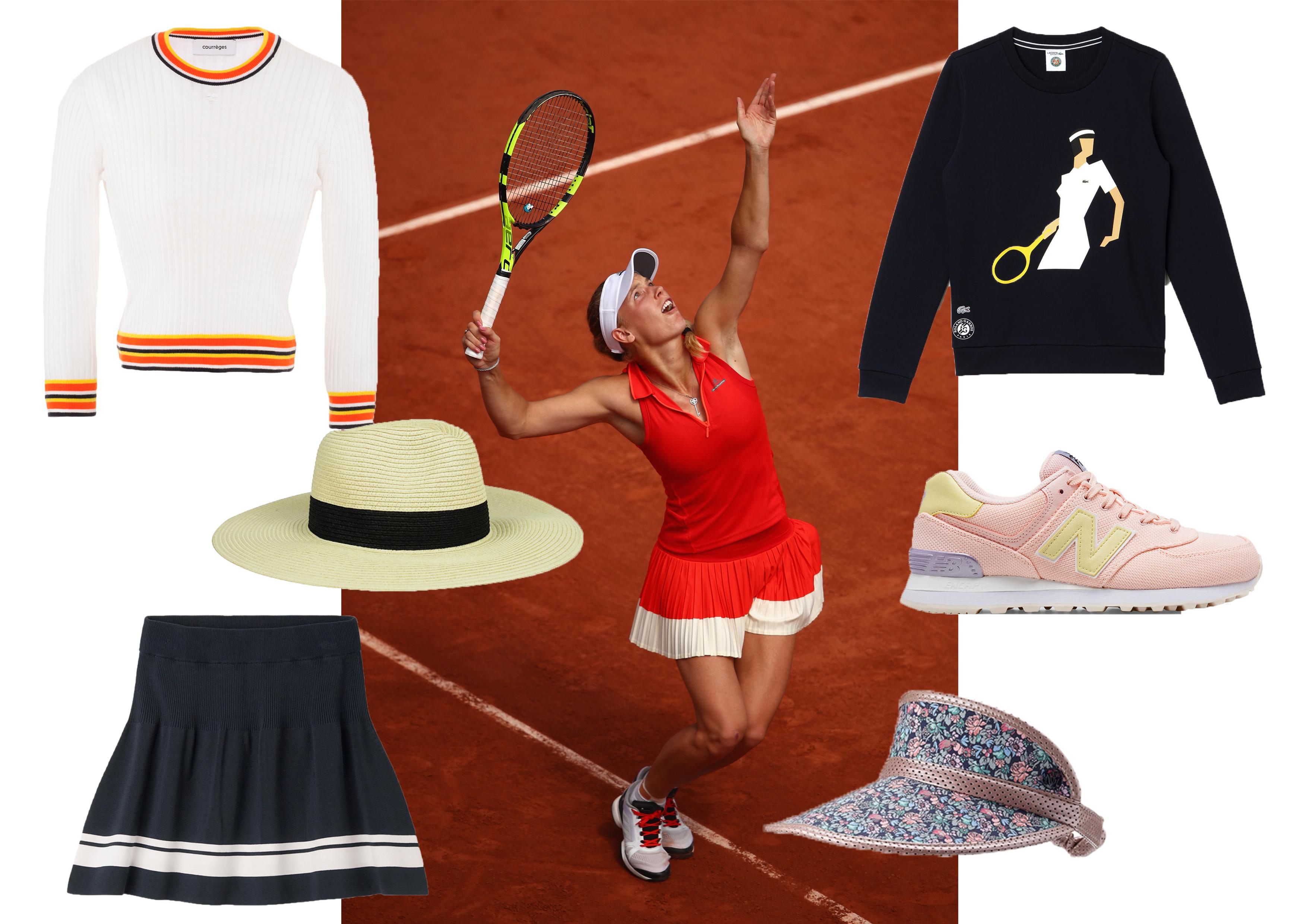 6a16ce7397 Tennis style : 15 pièces pour se mettre dans le mood de Wimbledon