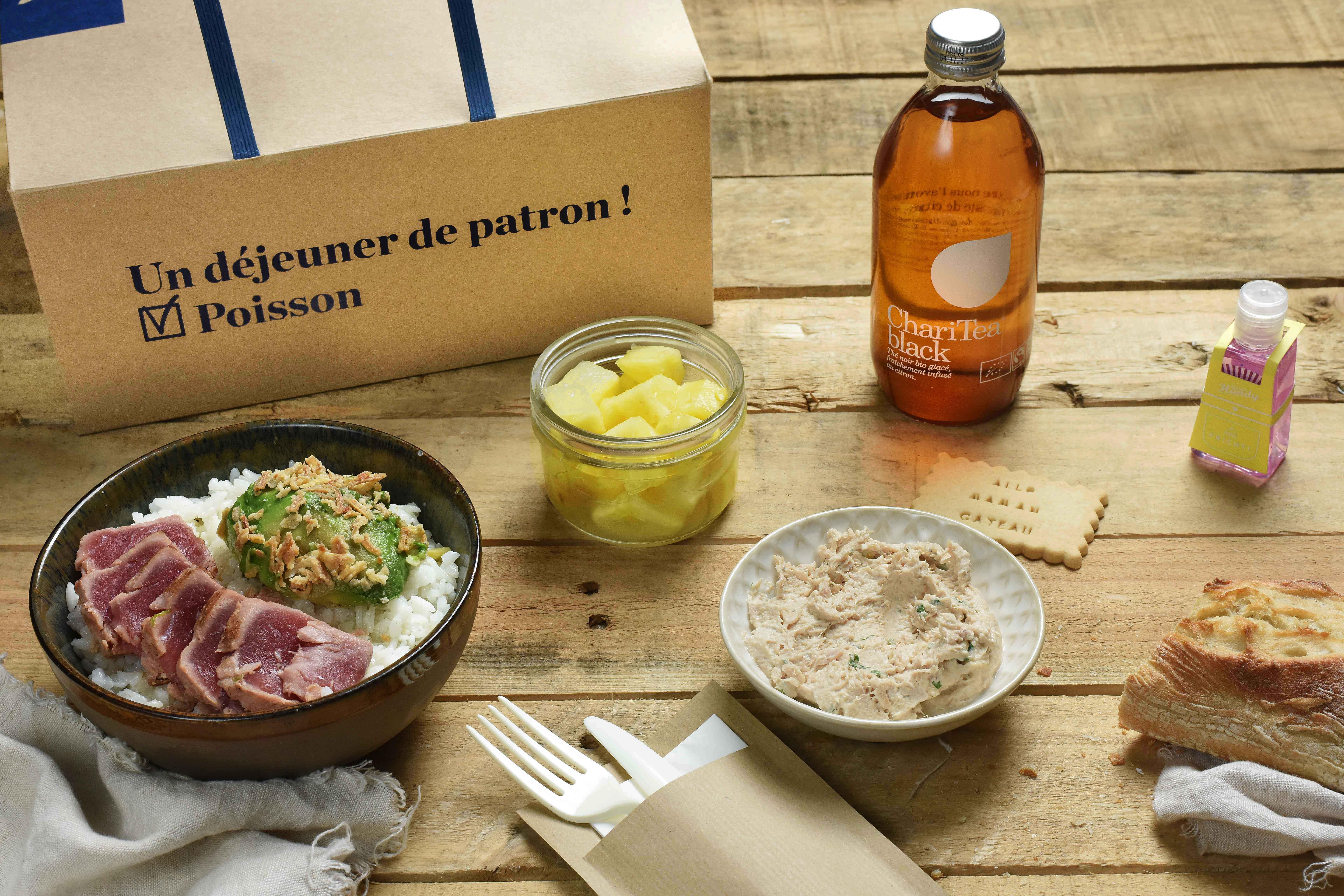 Plateau-repas classique