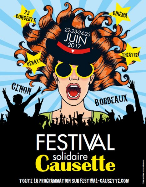 Festial solidaire Causette - Affiche