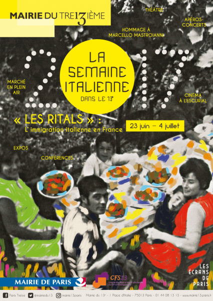 Affiche - Semaine Italienne 2017