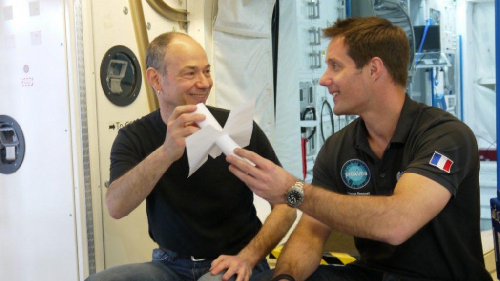 Kac & Pesquet at the Astronaut Training Center, ESA, (European Space Agency), Cologne, 17 June 2016 -- photo by Virgile Novarina
