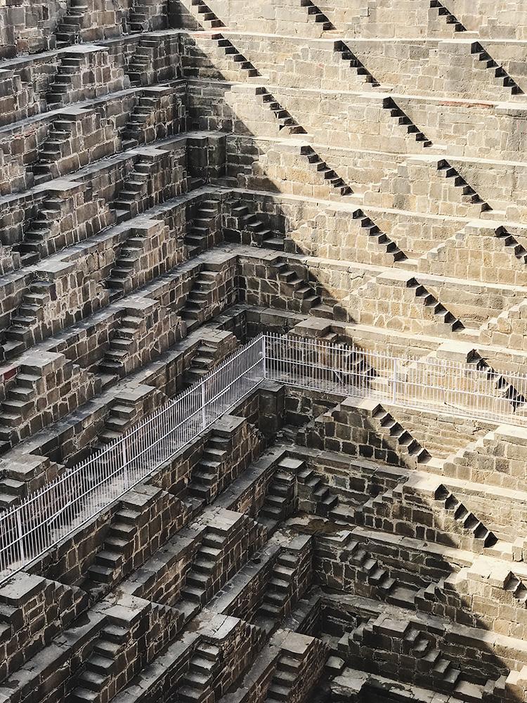 """1er prix """"Architecture"""", puit de Chand Baori en Inde © Paddy CHao"""