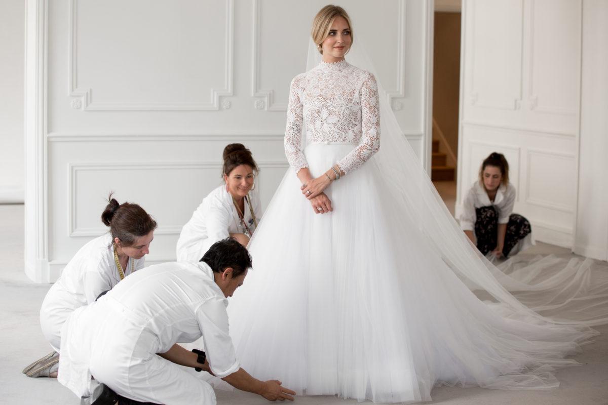 Wedding Dress Les Majestueuses Creations Dior Pour Le